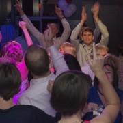 Party on the dancefloor