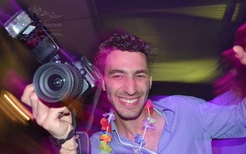 Fotograaf en Trouw DJ, elk zijn vak.